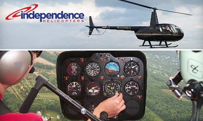 Independence Helicopters - Northeast Philadelphia: $149 for a 20-Minute Philadelphia Skyline Tour for Three with Independence Helicopters  (Up to $255 Value)