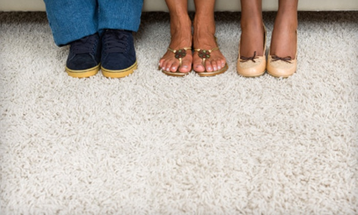 Encore Carpet Cleaning of the Carolinas - Clayton: $65 for Carpet Cleaning in Five Rooms and One Hallway from Encore Carpet Cleaning of the Carolinas ($179 Value)
