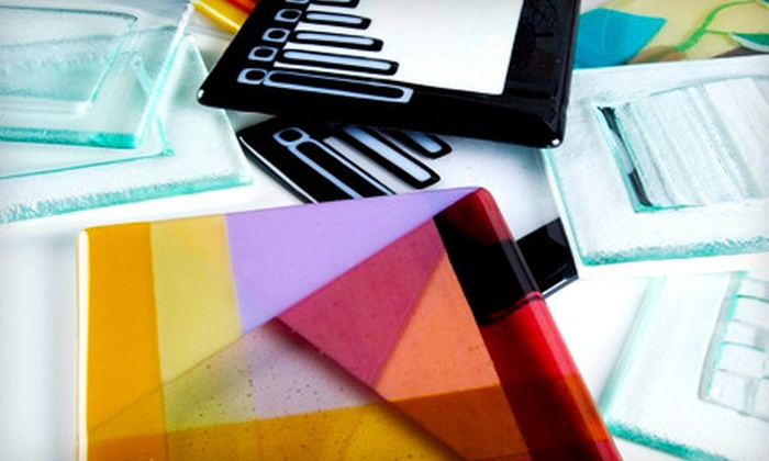 Bullseye Glass Resource Center Santa Fe - Santa Fe: $47 for an Introductory Fused-Glass Plate-Making Class at Bullseye Glass Resource Center Santa Fe ($100 Value)