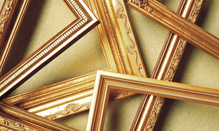 $38 for $100 Worth of Framing Services at Frame Central