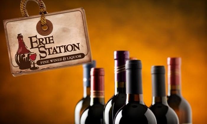Erie Station Fine Wines and Liquor - Henrietta: $10 for $20 Worth of Wine at Erie Station Fine Wines and Liquor