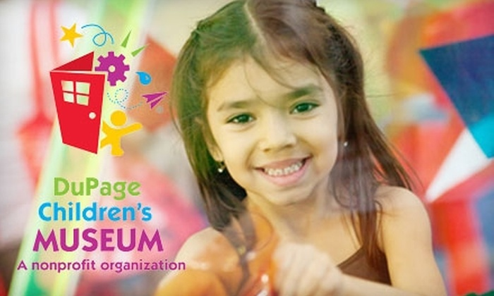 DuPage Children's Museum - Downtown Naperville: $15 for Four Admissions to DuPage Children's Museum in Naperville (Up to $34 Value)
