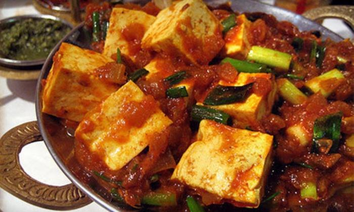 Zaroka Bar & Restaurant - Downtown: $10 for $20 Worth of Indian Dinner Fare and Drinks at Zaroka Bar & Restaurant in New Haven