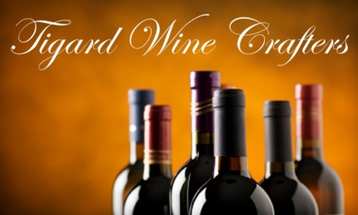 Tigard Wine Crafters - Bull Mountain: $69 for 12 Custom-Crafted Bottles of Wine at Tigard Wine Crafters