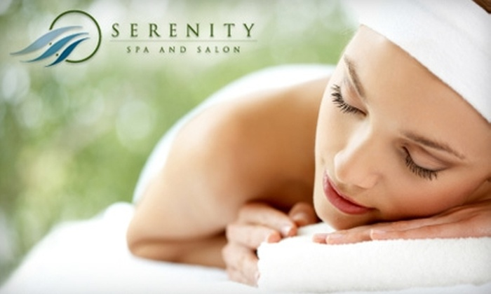 Serenity Spa and Salon - Carmel Valley: $69 for a 60-Minute Massage Plus Your Choice of Reflexology or Body Scrub at Serenity Spa and Salon ($150 Value)