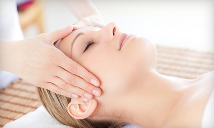The New Look Salon & Day Spa - Castle Park: One or Three Facial Packages with Upper-Body Massages at The New Look Salon & Day Spa in Chula Vista (Up to 56% Off)