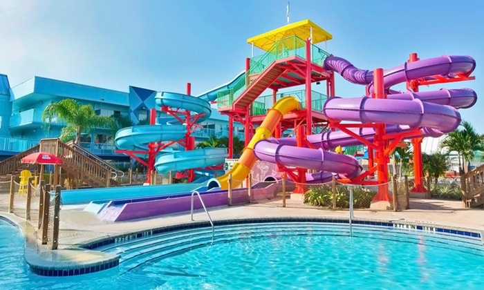 Flamingo Waterpark Resort - Kissimmee, FL: Stay with Water-Park Passes at Flamingo Waterpark Resort in Kissimmee, FL. Dates into October Available.