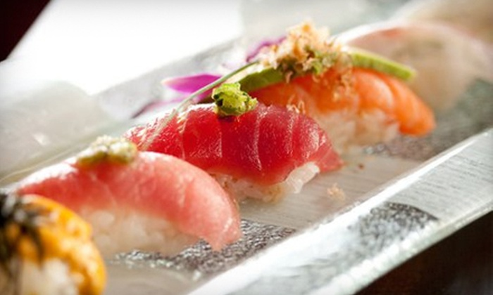 Azuma Sushi & Robata Bar - Multiple Locations: $20 for $40 Worth of Sushi and Japanese Cuisine at Azuma Sushi & Robata Bar