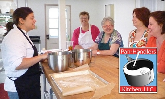 Pan-Handlers Kitchen - Tallahassee: $30 for Two Tickets to a Cooking Class at Pan-Handlers Kitchen
