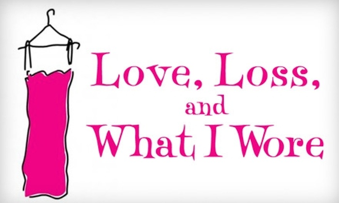 """""""Love, Loss, and What I Wore"""" - Clinton: $45 for One Ticket to """"Love, Loss, and What I Wore"""" at the Westside Theatre ($79 Value)"""