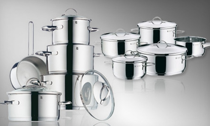 WMF Americas, Inc. - Multiple Locations: $110 for a Nine-Piece Provence Plus or Casa Stainless-Steel Cookware Set from WMF Americas, Inc. ($400 Value)