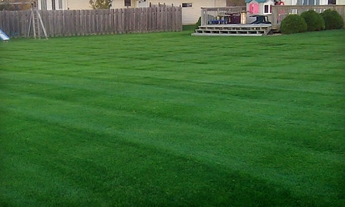 Green Cut Lawns - Green Bay: $30 for a Fertilizing Lawn-Care Treatment from Green Cut Lawns (Up to $69.50 Value)