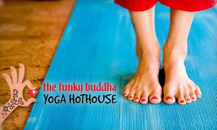 The Funky Buddha Yoga Hothouse - Grand Rapids: $35 for One Month of Unlimited Hot Yoga at The Funky Buddha Yoga Hothouse ($110 Value)
