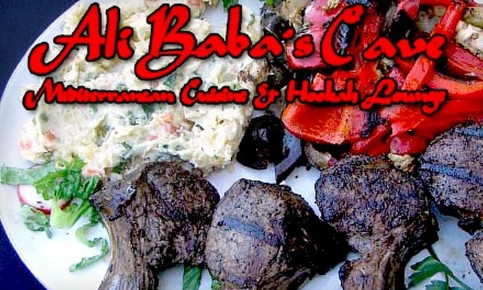 Ali Baba's Cave - Torrey Pines: $20 for $45 Worth of Mediterranean Cuisine at Ali Baba's Cave