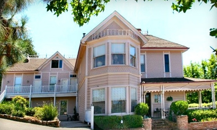 Power's Mansion Inn - Auburn, CA: $75 for One-Night Stay and Breakfast for Two (Up to $216 Value) at Power's Mansion Inn in Auburn
