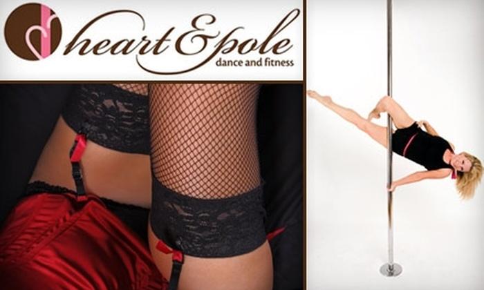 Heart & Pole - Hermosa Beach: $12 for Introductory Pole-Dance Class or Girlie Burlesque Class at Heart & Pole ($25 Value)