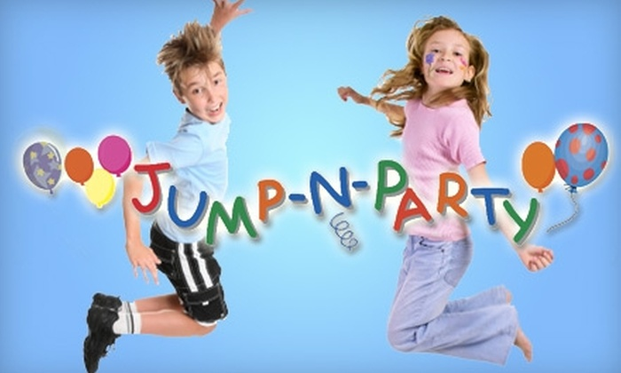 Jump-N-Party - Nevada / Lidgerwood: $18 for Six Open Jump Admissions at Jump-N-Party ($36 Value)