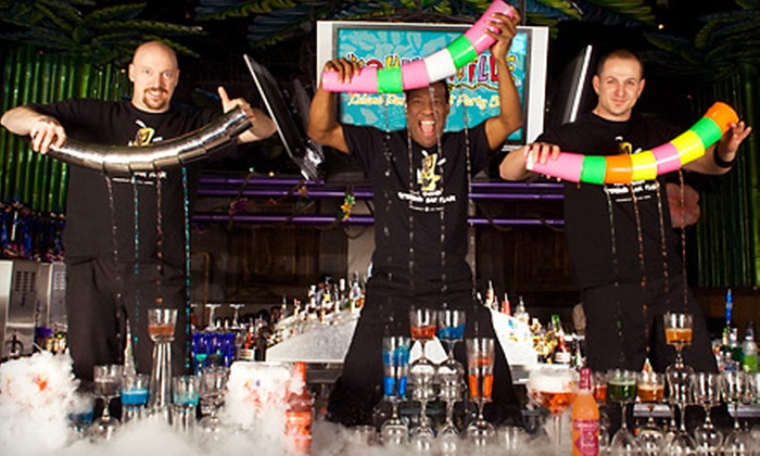 Kahunaville Island Restaurant & Party Bar - The Strip: $26 for Island-Themed Dinner for Two at Kahunaville Island Restaurant & Party Bar (Up to $53.96 Value)