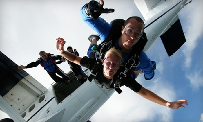 Skydive Bama - Vinemont: $130 for a Tandem Skydive with Skydive Bama ($260 Value)