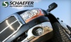 Schaefer Autobody Centers - Ballwin: 51% Off Car Wash, Wax, and Light Detailing from Schaefer Autobody Centers.  Choose from Two Options.