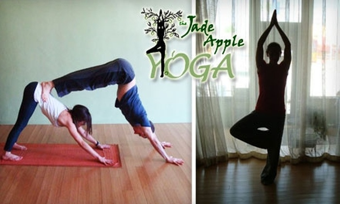 The Jade Apple - Valley Village: $30 for a 10-Class Card for Yoga, Dance, and Meditation at The Jade Apple in North Hollywood