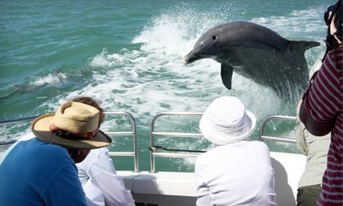 Boca Boats - Boca Grande: Half-Day Boat Cruise for Two or 90-Minute Sundowner Cruise for Two from Boca Boats in Boca Grande