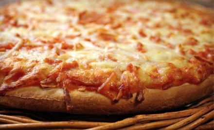 Pizza for 2 (a $21.94 total value) - Chicho's Pizza in Chesapeake