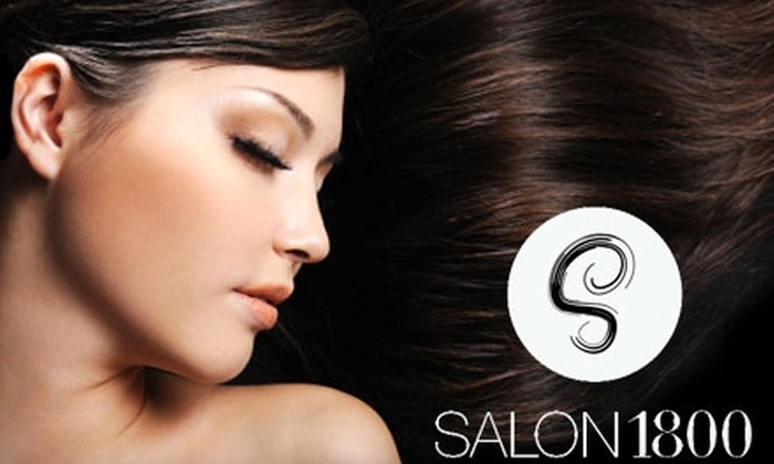 Salon 1800 - Multiple Locations: $25 for $50 Worth of Services at Salon 1800