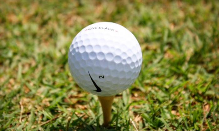 Coffee Creek Golf Course - Oklahoma City: $15 for a Burger Meal and Range Balls for Two at Coffee Creek Golf Course in Edmond (Up to $30.70 Value)