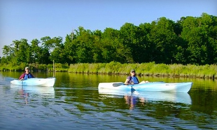 Paddle or Pedal - Chesapeake Beach: $20 for $40 Worth of Watercraft and Bicycle Rental at Paddle or Pedal in Chesapeake Beach