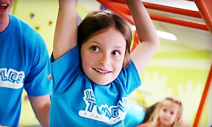 JW Tumbles - Multiple Locations: $39 for a Play Package with Three Classes and 10 Play Passes at JW Tumbles (Up to $195 Value). Two Locations Available.
