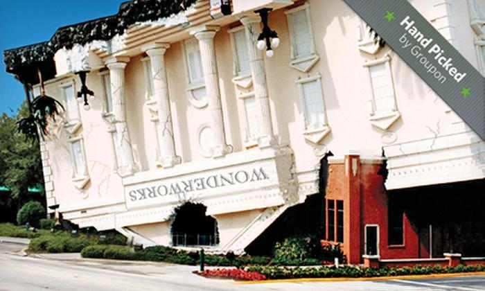 WonderWorks Orlando - Southwest Orange: $25 for General-Admission Tickets for Two to WonderWorks Orlando (Up to $49.98 Value)