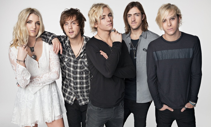 R5 - Verizon Wireless Amphitheatre at Encore Park: R5: Sometime Last Night Tour with Special Guests Jacob Whitesides and Ryland on Friday, July 10 (Up to 51% Off)