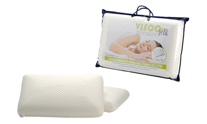 Cielo Lifestyle: Visco Pedic Classic or Contour Pillows from R295 Including Delivery (Up to 58% Off)