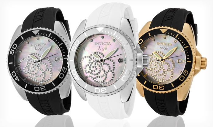 Invicta Angel Collection Women's Watches: Invicta Angel Collection Women's Watches (Up to 90% Off). 3 Styles Available. Free Shipping and Returns.