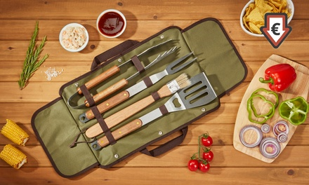 BBQ Tools in Carry Case