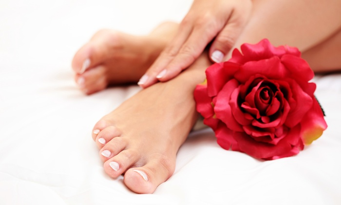 Serenity Nail and Spa - Serenity Nails & Spa: Basic or Shellac Mani-Pedi at Serenity Nails and Spa (Up to 49% Off)