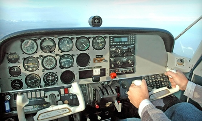 Advanced Air Incorporated - Garner: $52 for One Half-Hour Discovery Flight, Log Book, and Ground Instruction at Advanced Air Incorporated in Council Bluffs ($104 Value)