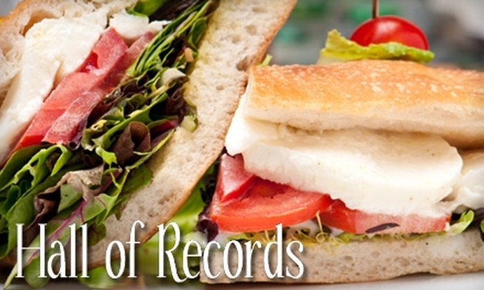 Hall of Records - Sunnyside: $8 for $16 Worth of Eclectic Fare and Drinks at Hall of Records