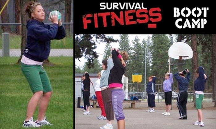 Survival Fitness Boot Camp - Dalton Gardens: $20 for 20 Boot Camp Classes at Survival Fitness Boot Camp in Dalton Gardens (Up to $125 Value)