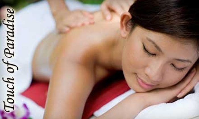 Touch of Paradise Studio - Marpole: $30 for a One-Hour Massage at Touch of Paradise Studio.