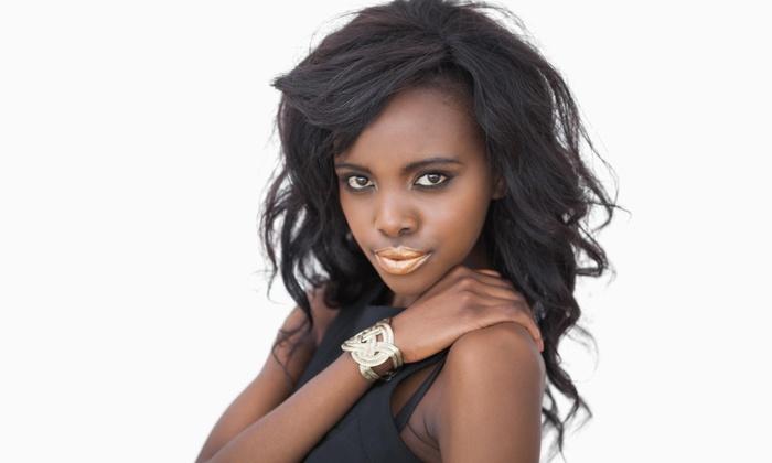 Celebrity Stylez Salon - Lansdowne: Full Head of Hair Extensions from Celebrity Stylez (50% Off)