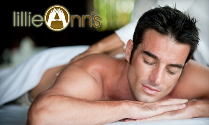 lillieAnn's - West Loop: $37 for a 60-Minute Massage at lillieAnn's ($75 Value)
