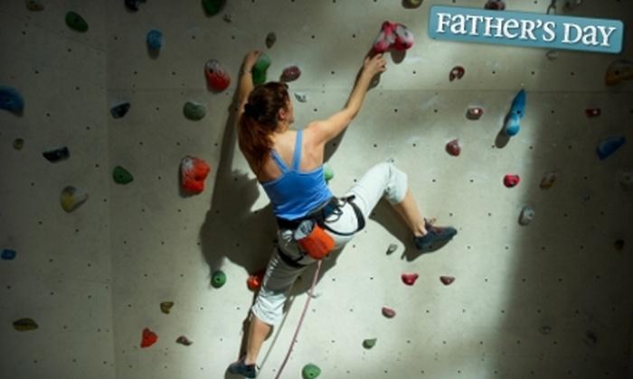 Rockhaus Indoor Climbing Gym - North Logan: One-Month Membership or Day Pass to Rockhaus Indoor Climbing Gym in North Logan
