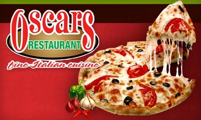 Oscar's Restaurant - Fort Sanders: $5 for $10 Worth of Classic Italian Fare and Drinks at Oscar's Restaurant