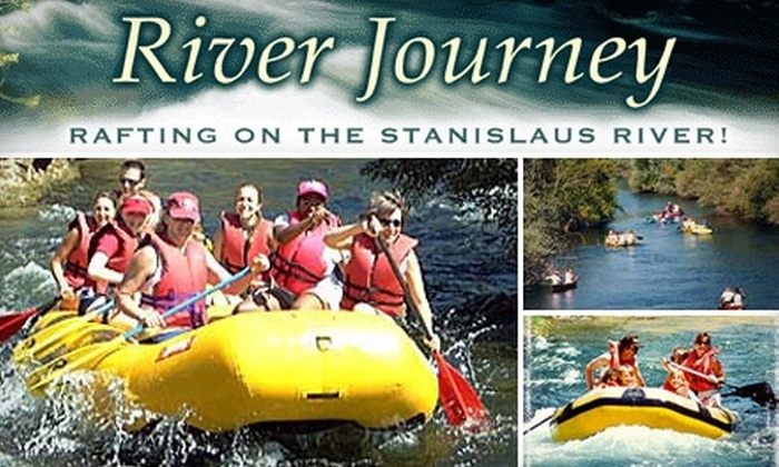 River Journey - Oakdale: A Six-Person, Five-Hour Scenic Float on the Stanislaus River from River Journey. Choose from Two Options.