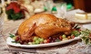 52% Off Thanksgiving Feast for Up to Eight