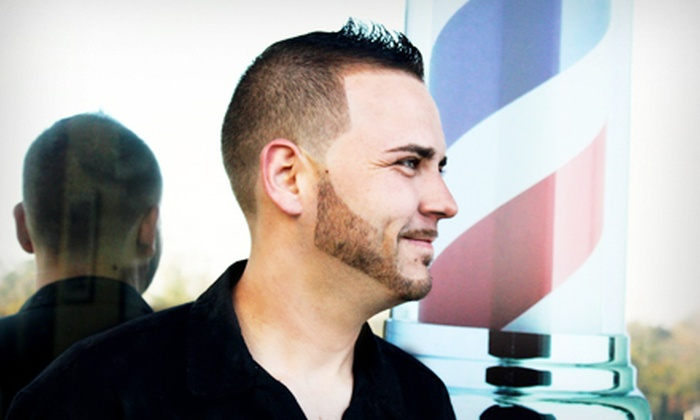 Major League Barbershop - Sanford: Hall of Fame Package with Cut, Shave, and Beard Trim or Men's Haircut at Major League Barbershop in Sanford (Half Off)