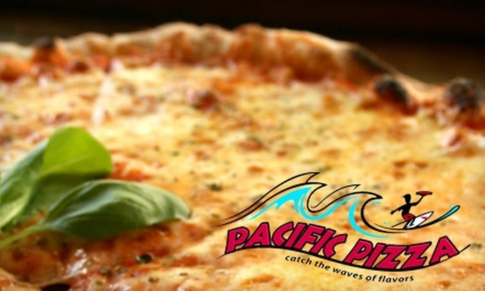 Pacific Pizza - Pacific: $10 for $20 Worth of Pizza, Drinks, and More at Pacific Pizza