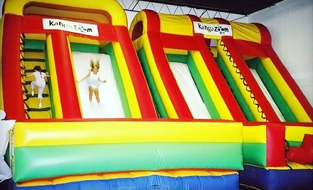 10-Visit Punch Card for Open Jump for Children Aged 2 and Older (a $60 value) - KangaZoom in Smyrna